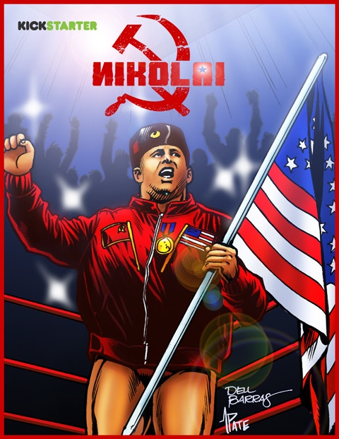 "8.5"" x 11"" NIKOLAI 1 Art Print - Available ONLY at Select Reward Tiers!"