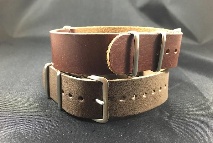 $35,000 Stretch Goal Italian Leather Strap