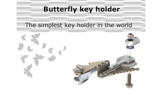The Ultimate Key Holder (stainless steel)