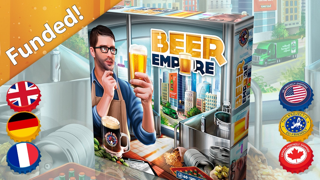 Beer Empire: The Board Game project video thumbnail