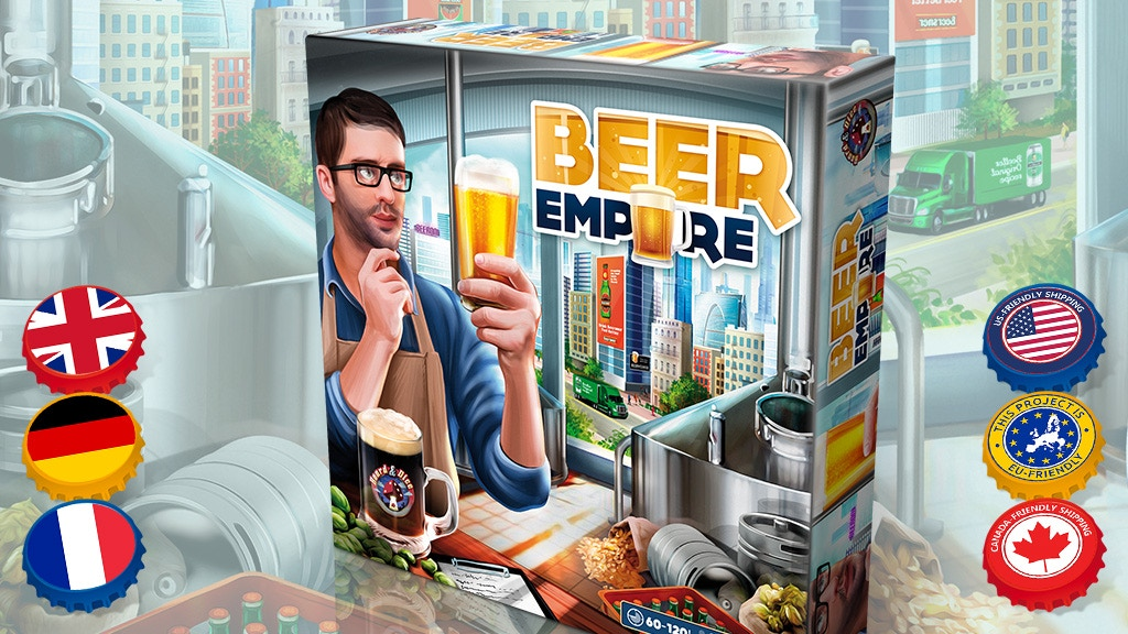 Beer Empire: The Board Game miniatura de video del proyecto