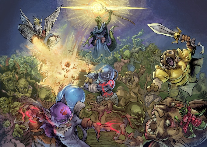 The Battle with the Goblin Horde!