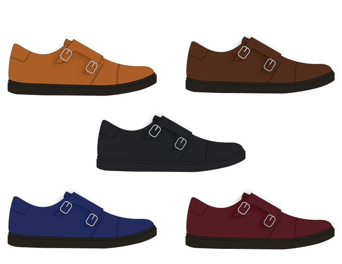 Monk Strap Unlocked! Available in Cognac, Chocolate Brown, Black, Royal Blue and Oxblood.