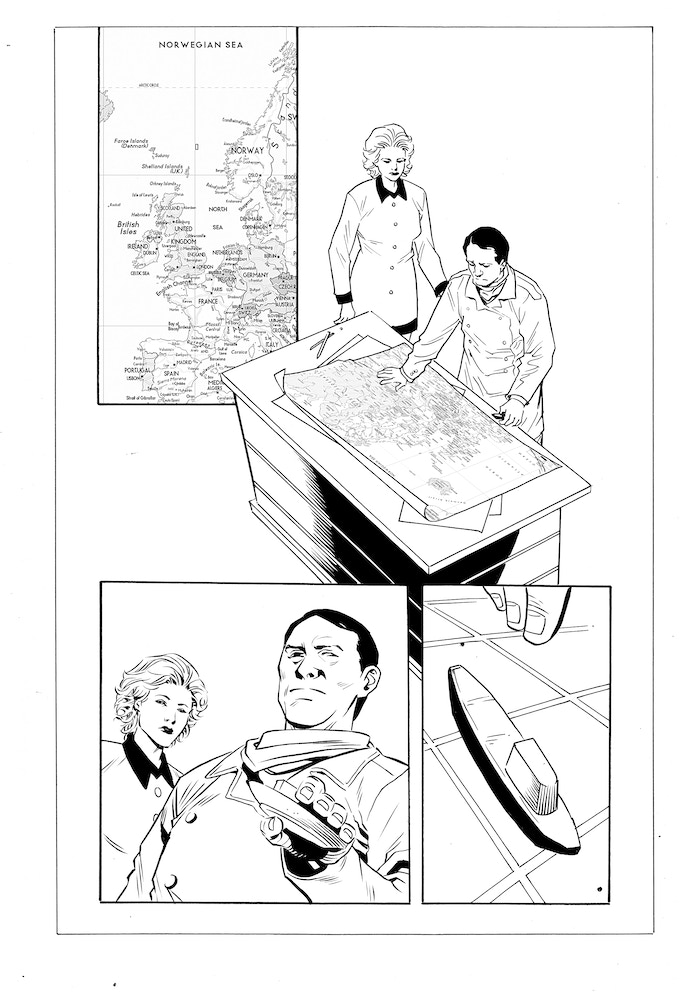 Issue #2 page 11 - inks by Jethro Morales