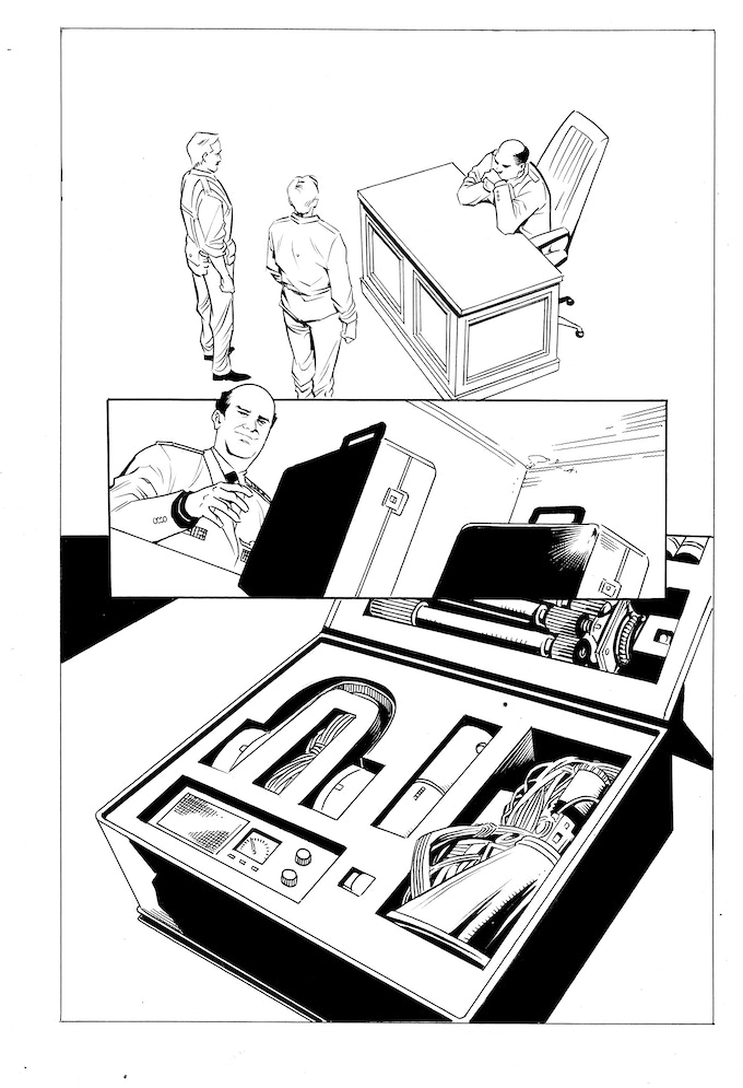 Issue #2 page 12 - inks by Jethro Morales