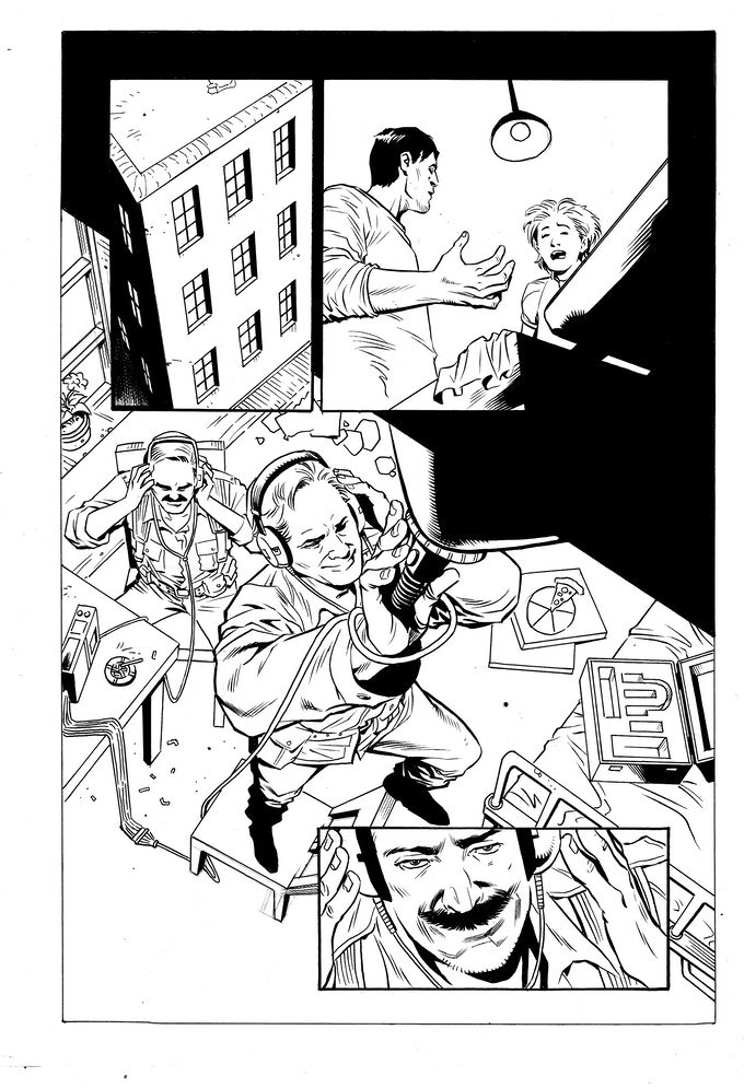Issue #2 page 13 - inks by Jethro Morales