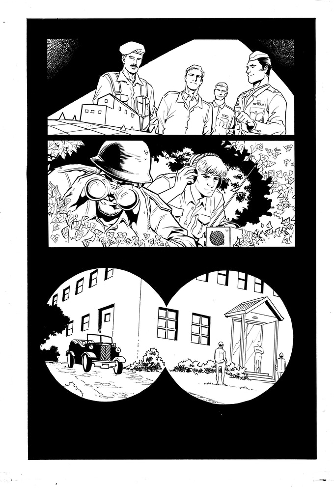 Issue #2 page 14 - inks by Jethro Morales
