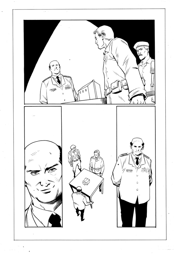 Issue #2 page 15 - inks by Jethro Morales