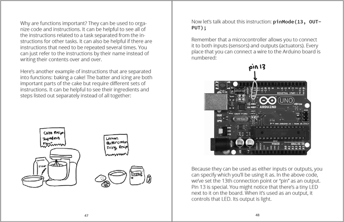 excerpt from zine about toy hacking and microcontrollers