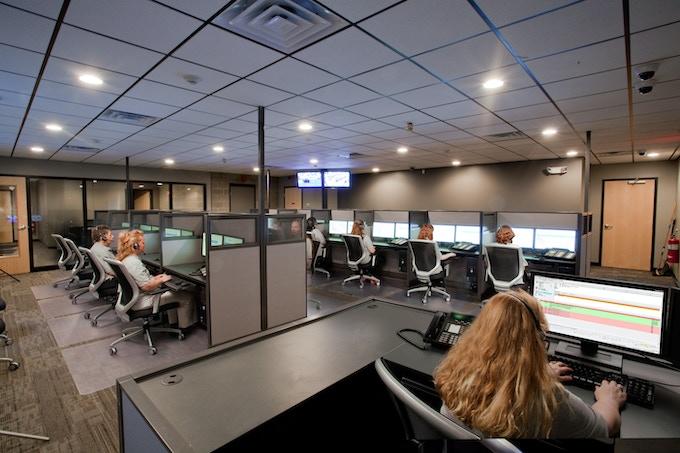 We've partnered with a world-leading U.S. based 24/7 monitoring Center