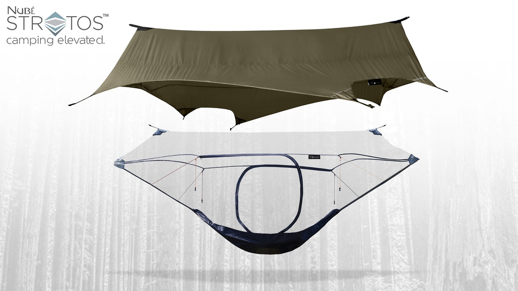 Nub 233 Stratos Lightweight Modular Hammock Shelter By