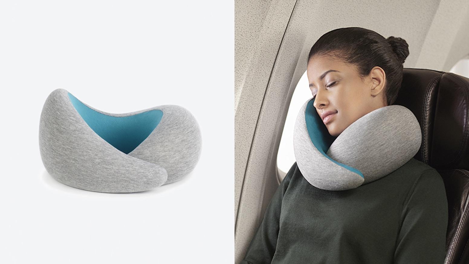 Ostrich Pillow Go Maximum Comfort Sleep For All Necks