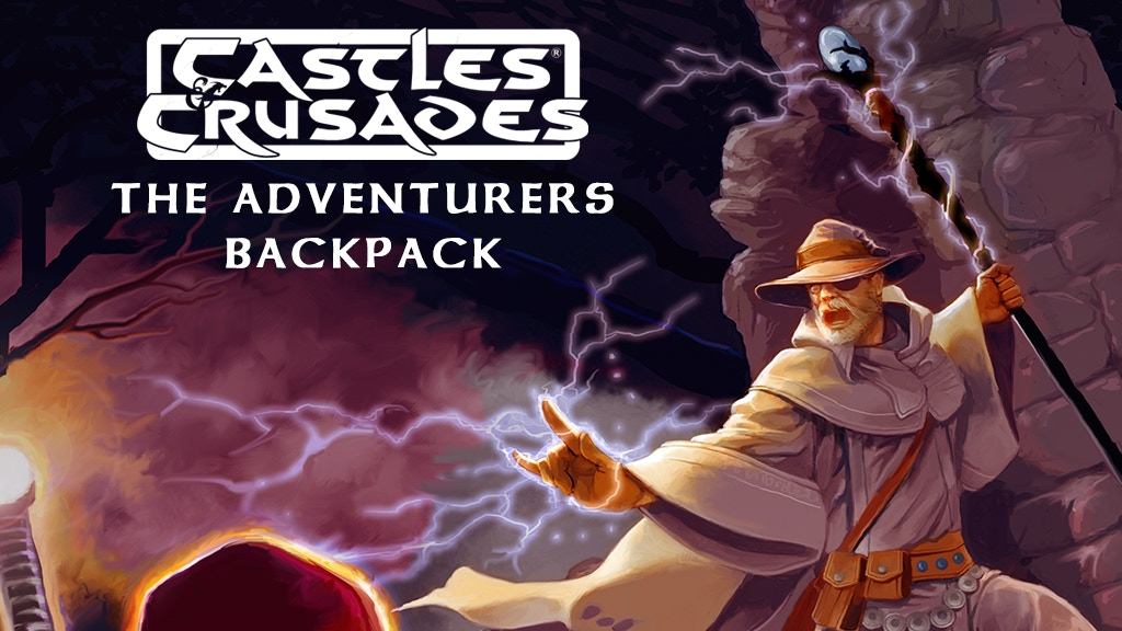 Castles & Crusades Adventurers Backpack project video thumbnail