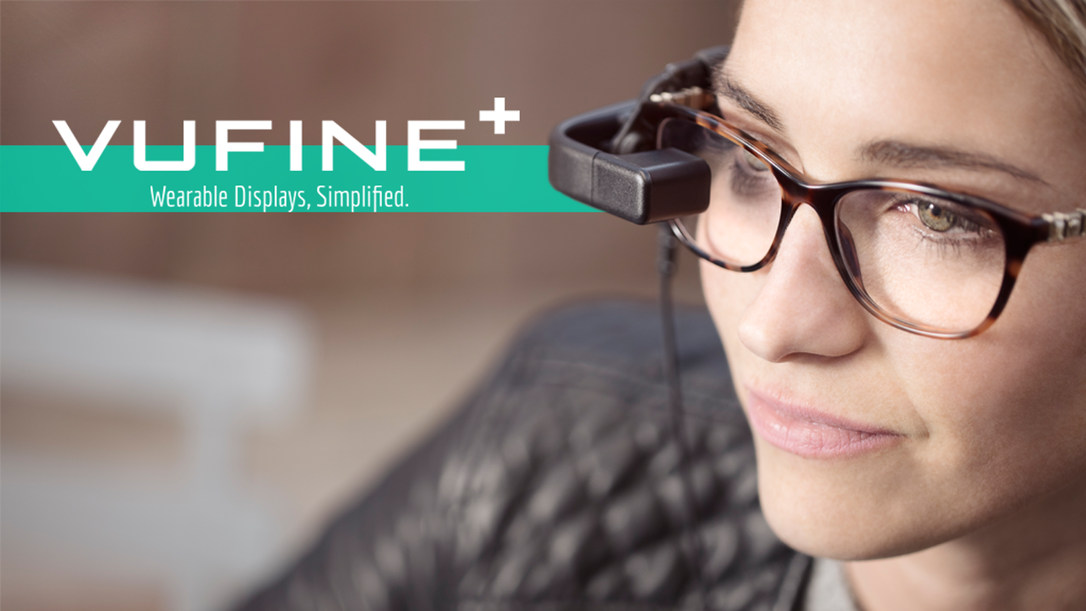 Vufine+ is a high definition wearable display that seamlessly integrates with your technology, truly unlocking its full potential.