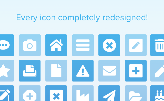Font Awesome 5 - Every icon completely redesigned