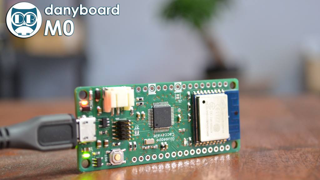 Danyboard M0 | Electronic prototyping platform project video thumbnail