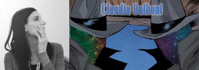 "Claudia Balboni, with art from Image Comics' ""Black Jack Ketchum"""