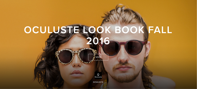 Want More? Click Above Image to View Oculuste Look Book