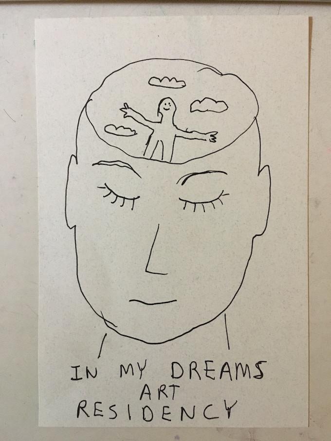 Hand drawn postcard $10