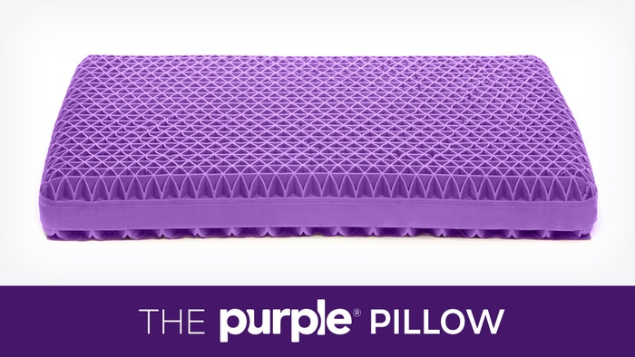 No more lumpy foam, stabby feathers and melty memory foam. Introducing the Purple® Pillow, the first innovation in pillows since geese.