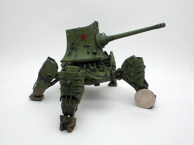 Typical model. After assembly and painting. Models require assembly and painting by customer.