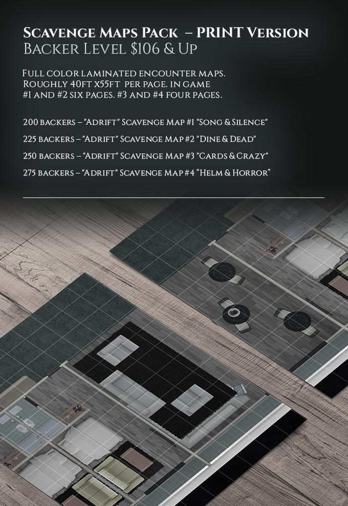Stretch Goal: Scavenge Maps Print