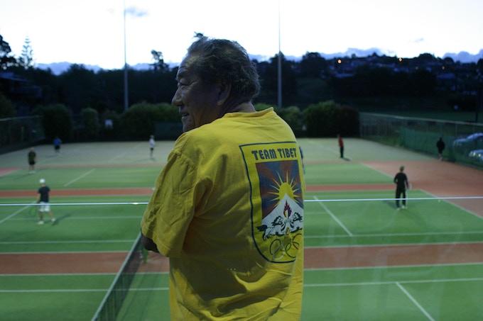 Thuten Kesang, Browns Bay Racquet Club, Auckland