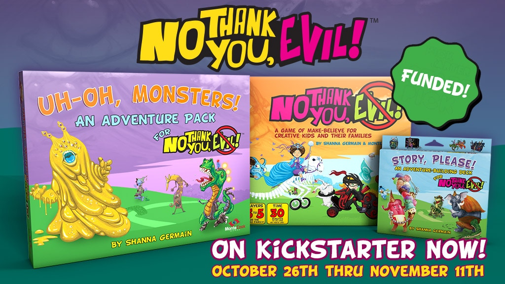 No Thank You, Evil! The Adventures Continue project video thumbnail