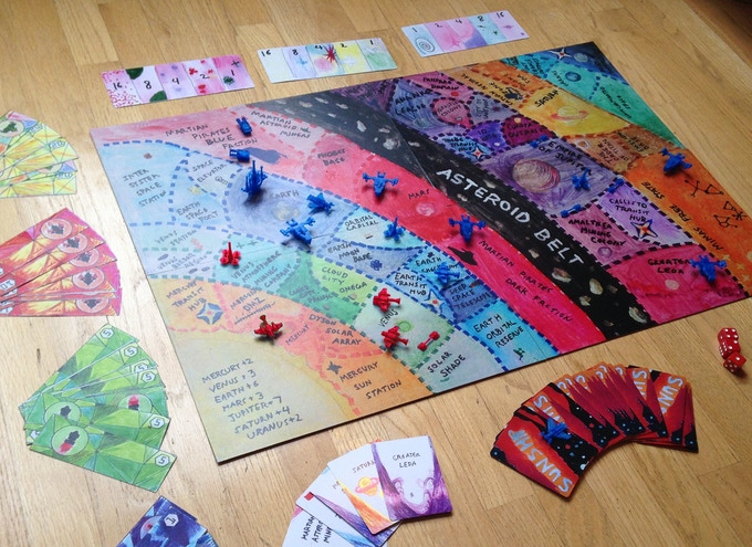 Sunship : A Game Of Celestial Creation And Conquest By