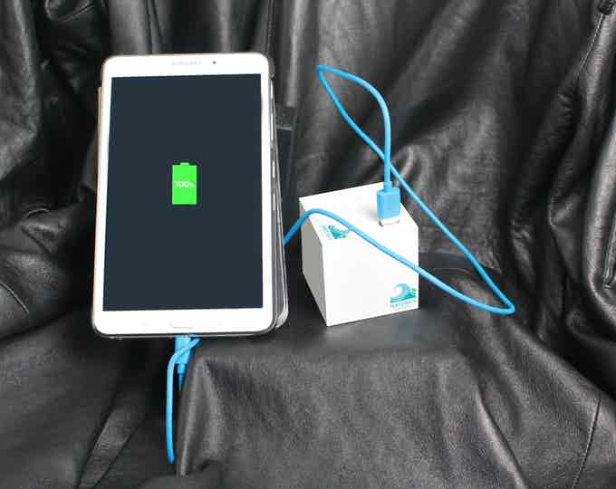 Charging an Android Tablet