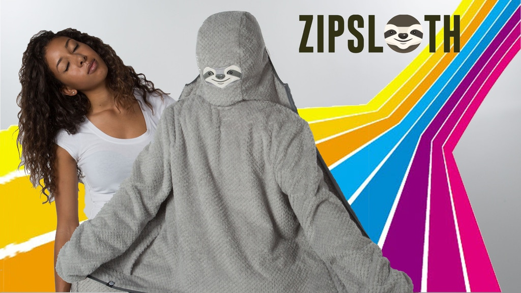 ZipSloth: The World's Laziest Hoodie project video thumbnail