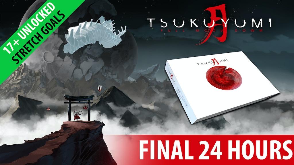 TSUKUYUMI - FULL MOON DOWN - asymmetric strategy game project video thumbnail