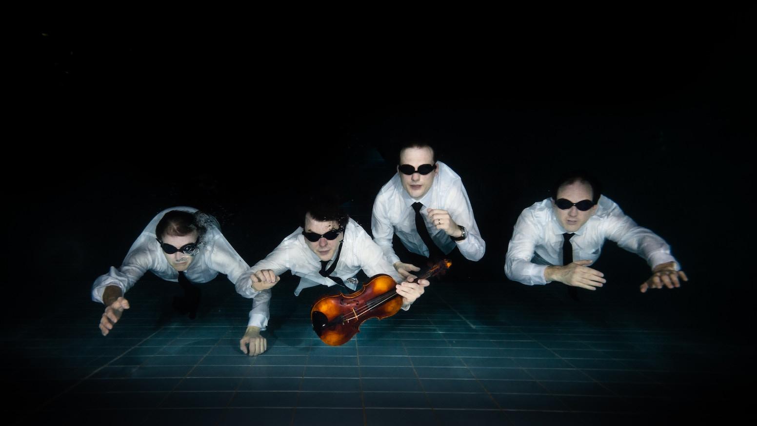 12 Seconds of Light - Modulus Quartet's debut album by