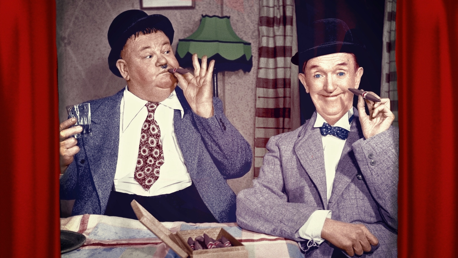 An Audiovisual Account of Laurel & Hardy's 1952 British Tour.  With CD containing a complete recording of their sketch 'On The Spot' ... plus an additional unreleased recording!