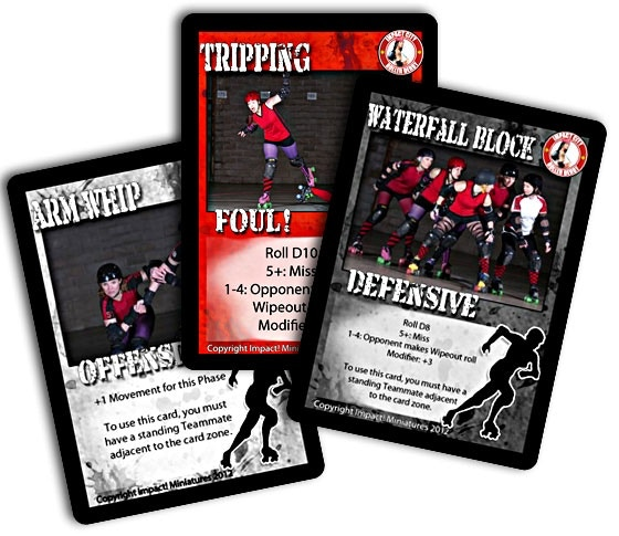 Shared Board Cause To Pause: Roller Derby Board Game & Minis Shipped For Christmas 2016