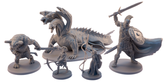 Mythic Battles: Pantheon plays a lot on scale. The Gods are gigantic, as are some of the creatures you can recruit into your army.