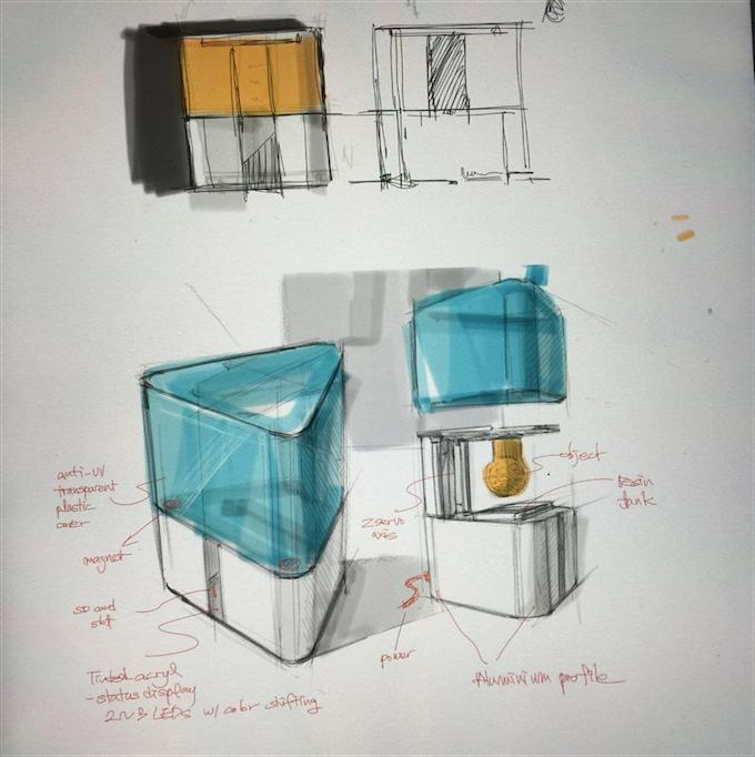 MORPHEUS delta, Concept drawings