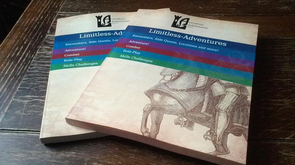 Limitless Encounters vol. 1: 150 5e Encounters project video thumbnail