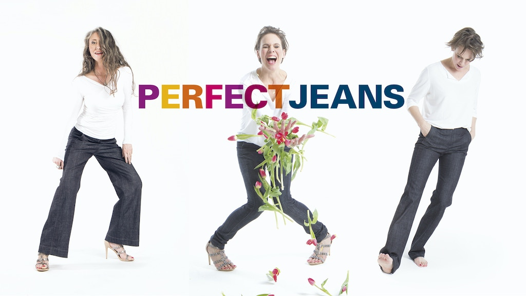 Jeans with a side panel. For the perfect fit. project video thumbnail