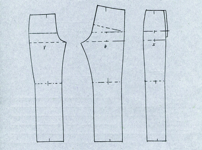 The three-part cut