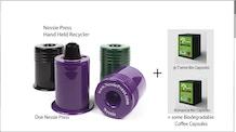 The Nespresso® Capsule Recycler + Biodegradable Capsules