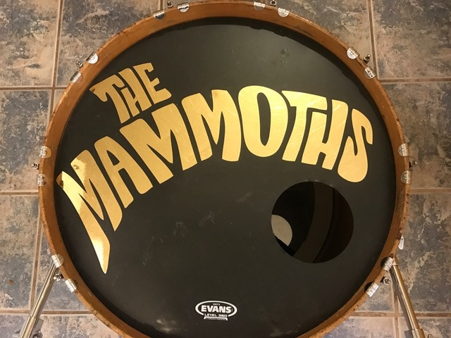 One of a kind drum head