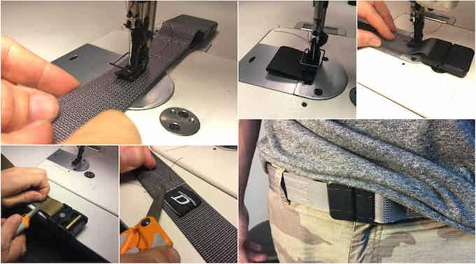 Sewing with Industrial Sewing Machine