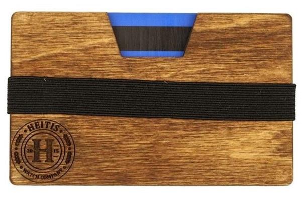 The Heitis Wooden Wallet