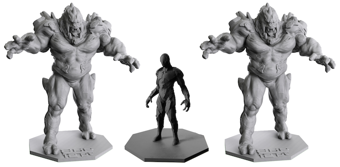 The highly detailed Premium Edition miniatures