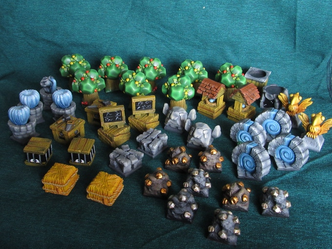 Everything you need for Krosmaster Quest (Supplied unpainted)