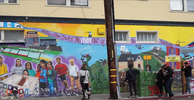 67 Sueños Anti-Gentrification Mural