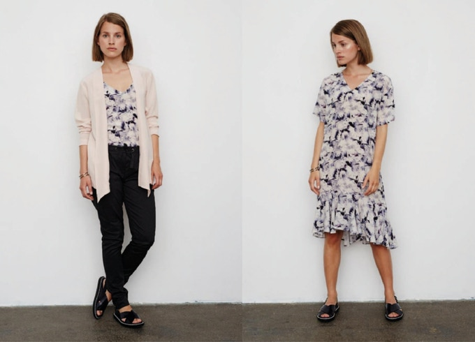 JAMIL KIMONO - TIMMY TOP - DONNA DRESS