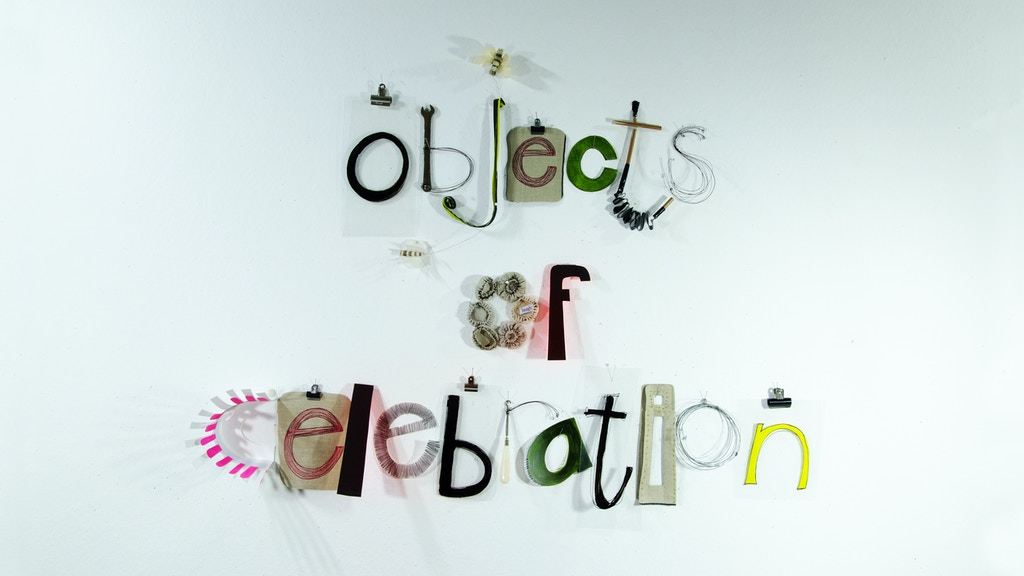 Objects of Celebration project video thumbnail