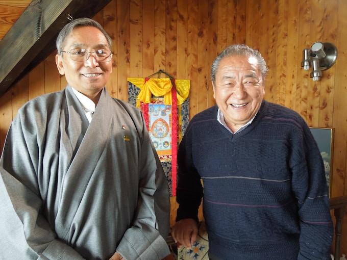 Thuten & Tenzin Atisha